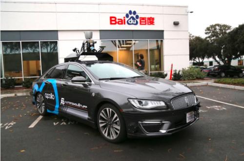百度、蘑菇车联领跑自动驾驶商业化