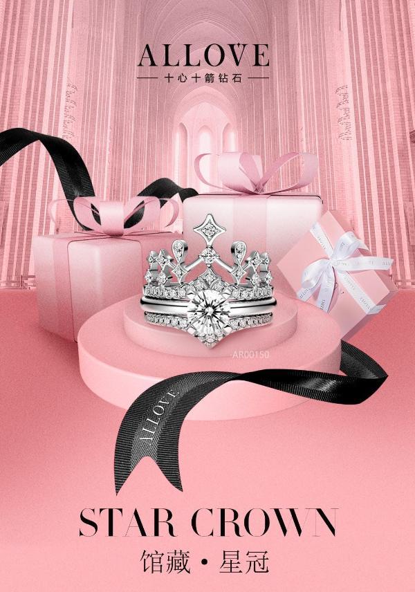 如何让爱情升级,送她一颗ALLOVE钻石吧