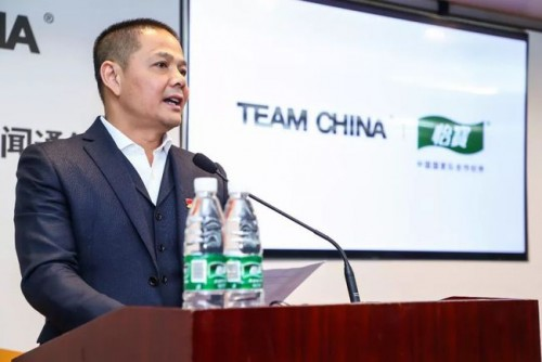 华润怡宝CEO张伟通:携手TEAM CHINA是一个大事业