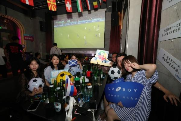 LAZBOY开展线下欧洲杯观赛活动,助力球迷躺赢比赛