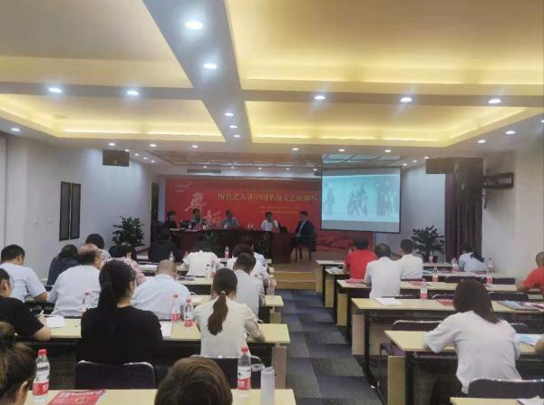 传承红色基因,践行鲁艺精神,大鹏教育参加宝蓝股份建党100周年活动!