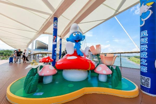 蓝精灵来了!三亚国际免税城二期邀你纵享云戒岛之夏