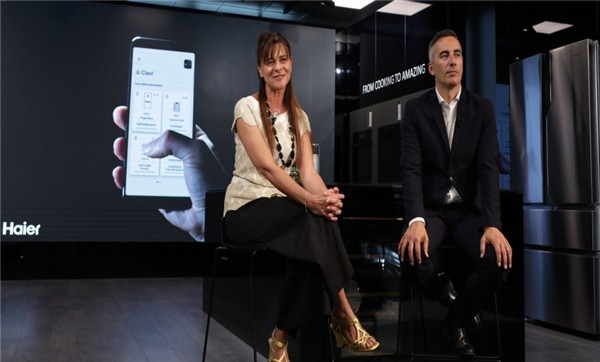 在意大利:海尔智家在品牌场景体验中心与用户线上交互