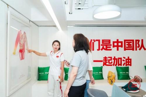 TEAM CHINA携手华润怡宝6城巡演 CEO张伟通为中国队助威