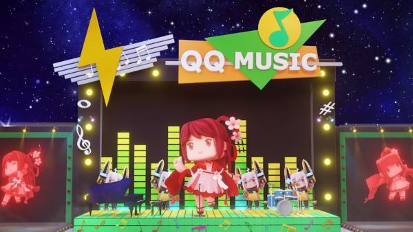 迷你世界X QQ音乐联手搭建音乐数字场景,音乐元宇宙将至
