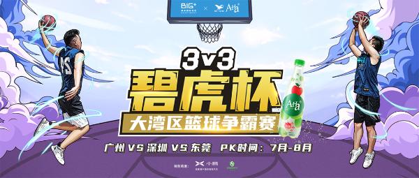 公寓业首个跨界IP篮球赛:碧家X统一A-Ha 碧虎杯大湾区3V3篮球争霸赛正式开启