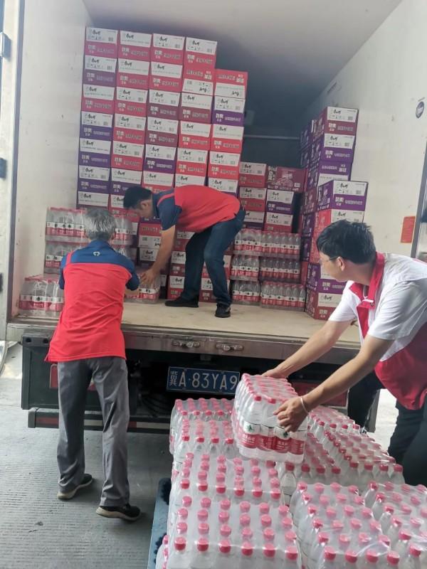 驰援河南 百世集团助力承运救援物资