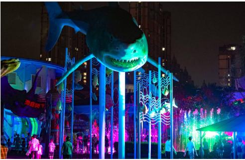 武汉海昌创新沉浸式夜场,引领华中地区高端夜游新趋势