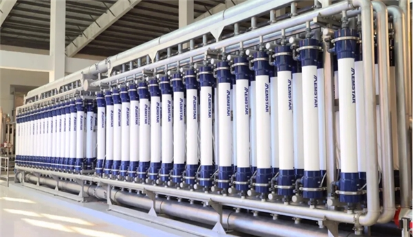 高效低能耗膜技术成为水资源化利用首选