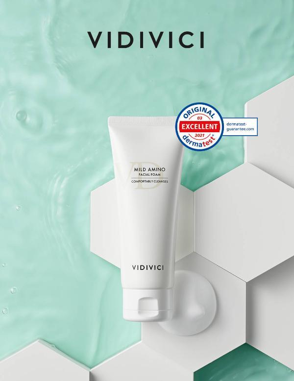 VIDIVICI舒颜氨基酸洁面乳,解锁清爽夏日的洁面体验