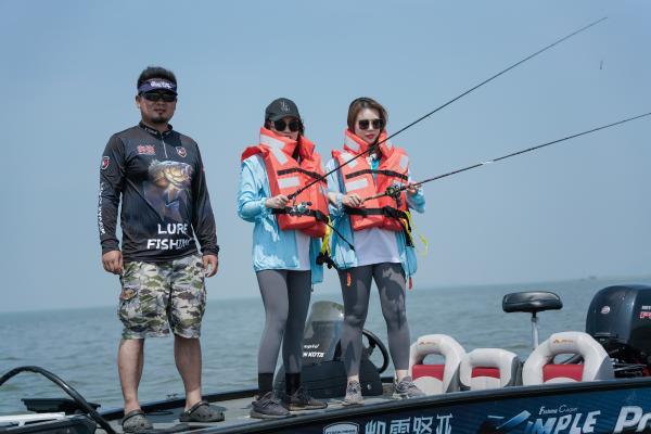 亚洲最大路亚钓鱼赛事 2021长城炮路亚国际锦标赛开赛