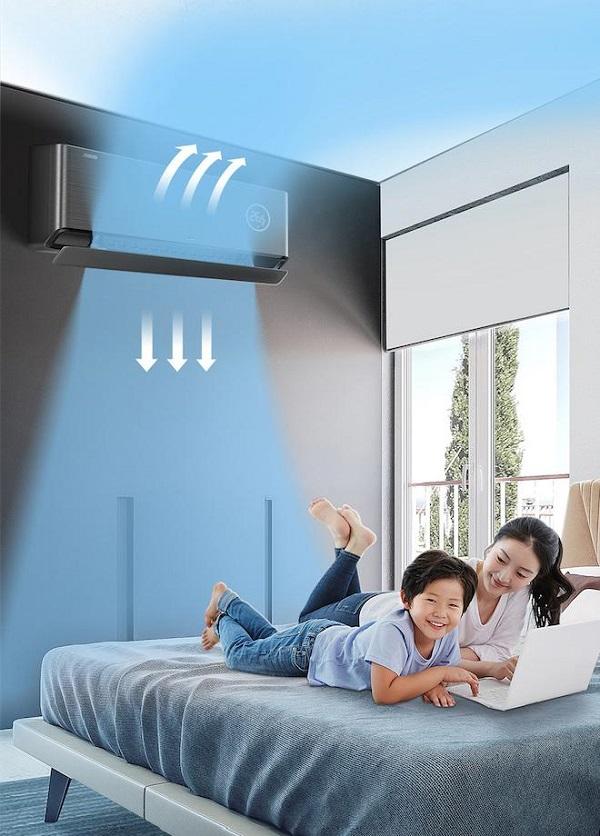 还在为是否给宝宝吹空调而纠结?TCL卧室新风空调新风增氧还能消毒杀菌