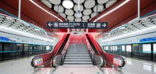 献礼建党百年,蒂升电梯携手西安地铁共襄盛世