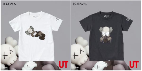 优衣库与KAWS强强联手,全新UT限定新品,带来百变潮童亲子装