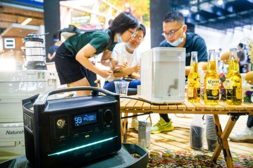 ISPO Shanghai闭幕,1/4现场观众种草EcoFlow正浩户外电源