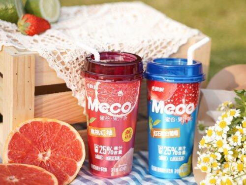 夏日狂欢,朱正廷强势入驻,Meco蜜谷果汁茶陪你放肆一整夏