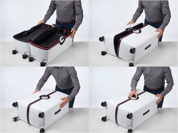 """玩""""转""""摩登旅程 Samsonite推出全新对开式IBON系列旅行箱"""