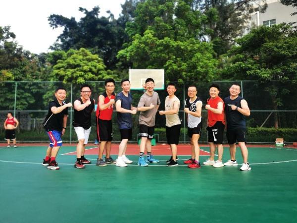快乐运动、健康生活,BNI宝惠分会篮球友谊赛圆满完成