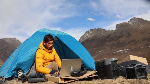 EcoFlow正浩发布治沙环保宣传片,与百万森林共推沙漠生态保护理念