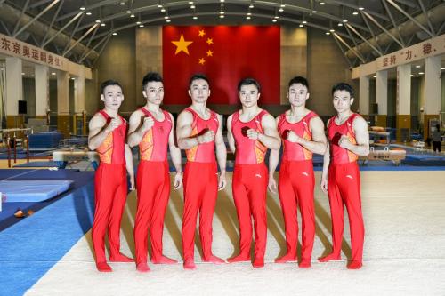 国家体操队今起出征东京 加多宝为体操健儿喝彩!