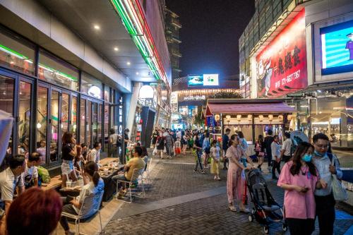 大宁夜市焕新回归,打造创新人士的社交基地