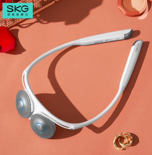 SKG肩颈按摩仪再出科技之作,多管齐下打造性能独角兽