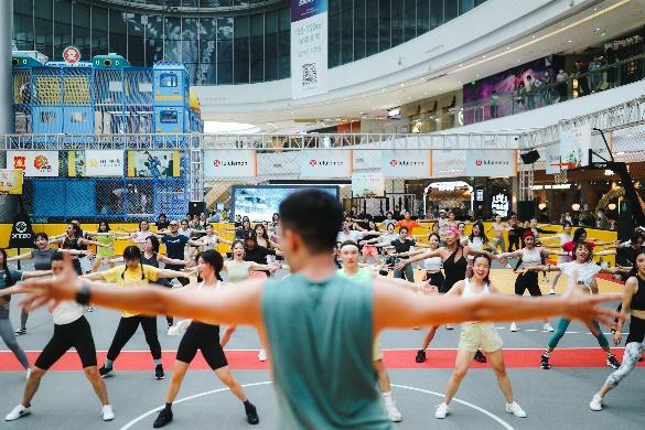 lululemon北京朝阳合生汇店正式开业,在京门店数突破10家