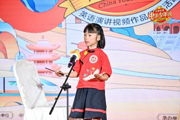 中华少年说上海站风华少年许珂瑜:每天1节51Talk课程,高频是关键