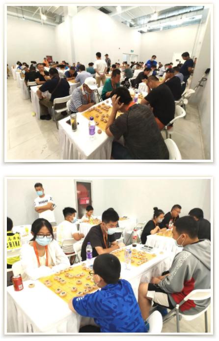 """第四届""""大堡山杯""""象棋公开赛第五站晋级赛成功举办!"""