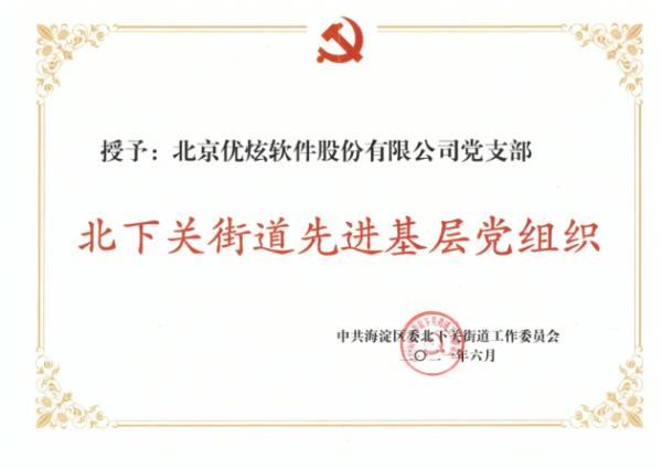献礼建党百年|优炫软件党支部开展党建系列活动