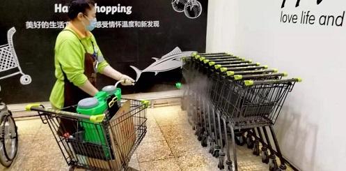 超市发:严格管理不松懈 全力以赴保供应