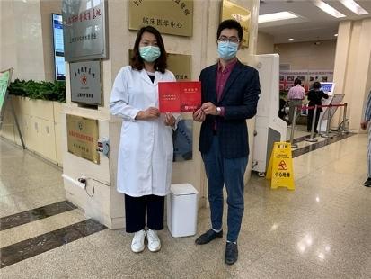 拓牛向深圳市人民医院捐赠智能垃圾桶,让医院垃圾处理更安全