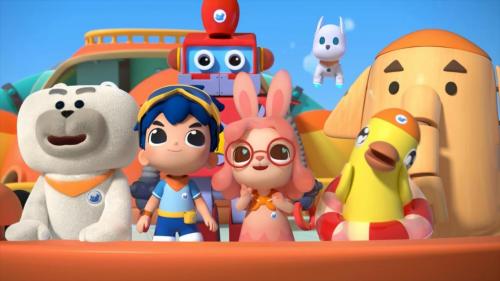 郑渊洁同名作品改编《旗旗号巡洋舰》第二季今日开播,不容错过的玩具岛屿大升级!