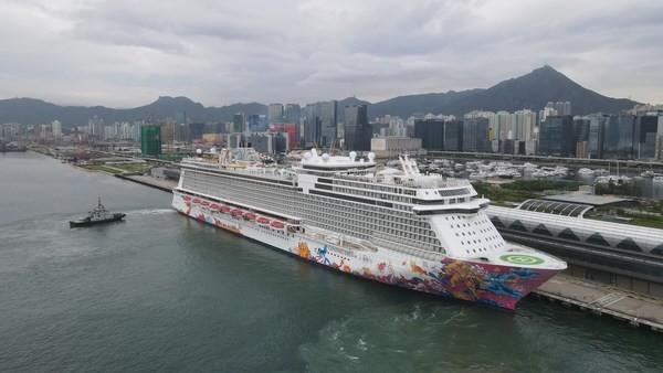 """星梦邮轮""""云顶梦号""""率先于中国香港复航 引领邮轮旅游业重启"""