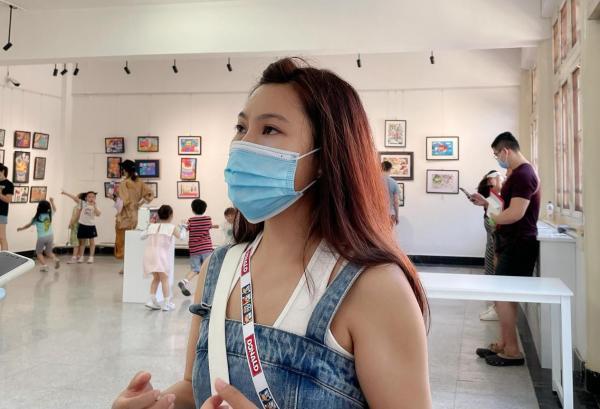 """雅昌艺术网 """"红色记忆·绘筑未来""""儿童绘画作品展在报国寺创意空间开幕"""