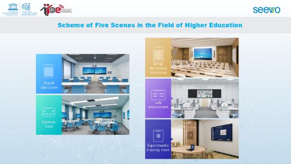 希沃亮相2021年联合国教科文组织高等教育创新中心半年度会议,助推高等教育信息化进程