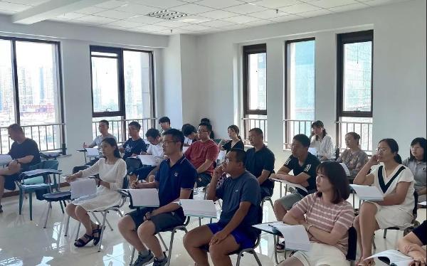 超竞教育电竞教育学院组织暑期教师培训活动