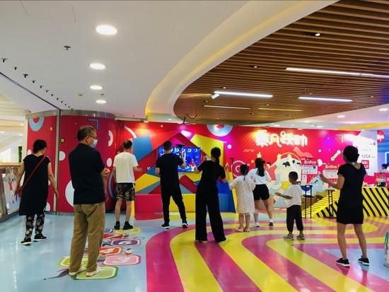"""全民运动,不止一夏 2021年东直门银座Mall""""乘风跃动""""活动圆满落幕"""