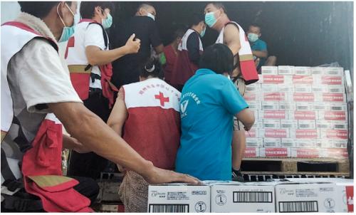 与豫同舟,北京润美康医药有限公司捐赠320万元物资驰援河南