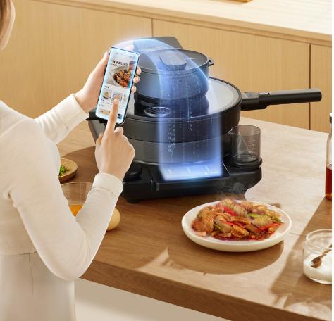 轻松下厨、乐享美食,尽在添可智能料理机食万2.0