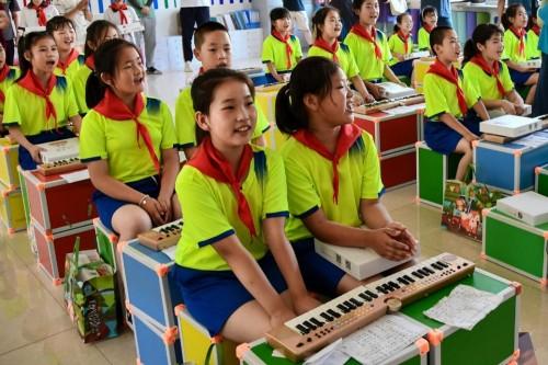 柠檬微趣公益:让乡村的孩子们也能通过音乐热爱艺术,通过艺术热爱生活
