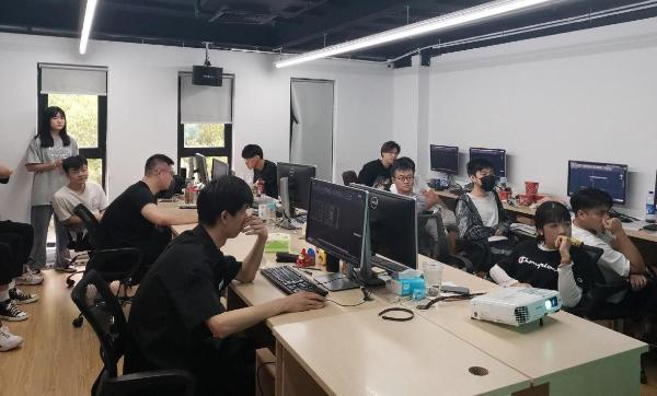 火星时代上海虹口校区室内设计招聘会 知名企业现场聘人才
