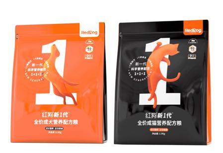 吴磊代言RedDog,新1代红狗猫粮、红狗狗粮更适合城市犬猫