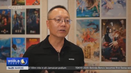完美世界CEO萧泓接受CGTN采访:后疫情时代数字娱乐产业迎来新变革
