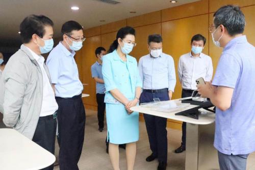 深圳市政协主席林洁一行调研瑞声科技