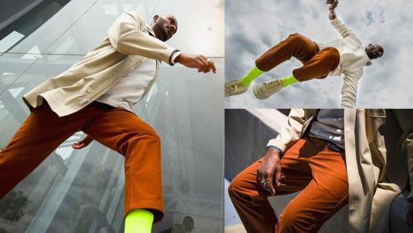 感受自信,自在通行 lululemon推出全新Utilitech面料的ABC男士长裤