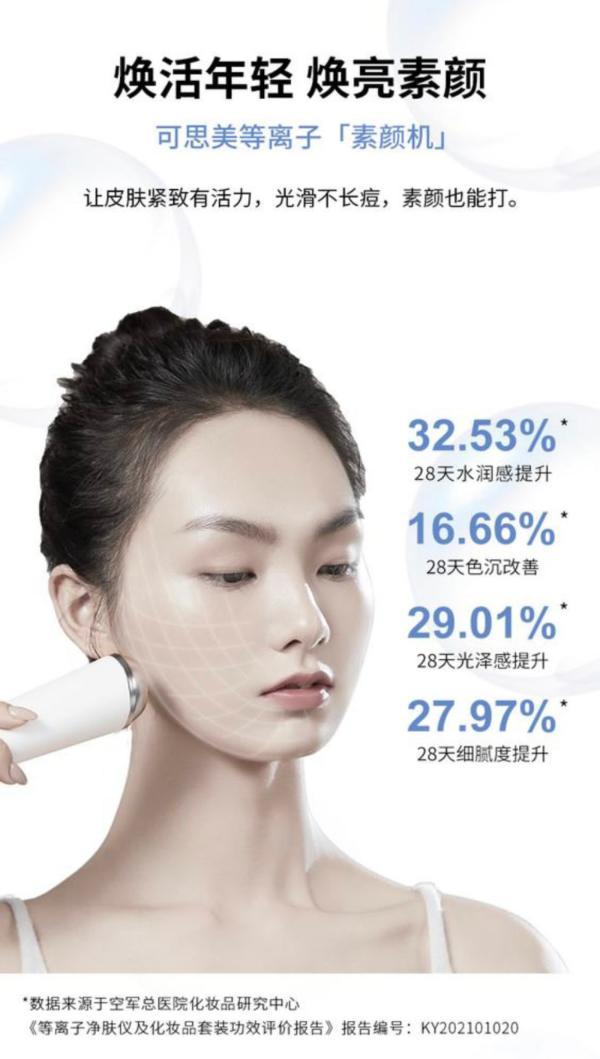 可思美等离子净肤仪 换季初期的皮肤管理贴心管家