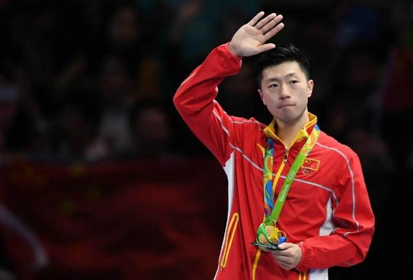 祝贺国乒在东京奥运会取得四金三银的好成绩!馨月汇馨爸马龙许昕功不可没