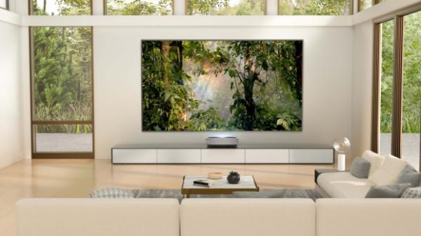 """打造""""高级感""""完美客厅,海信激光电视100L5G硬核升级"""