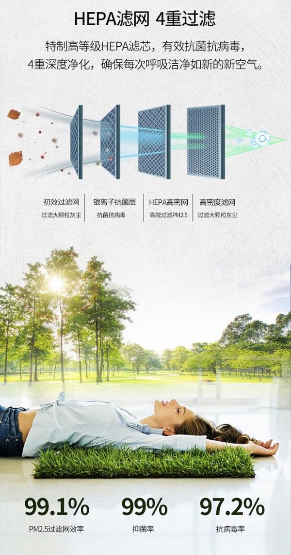 吹空调不再纠结健康问题!升起TCL卧室新风空调小蓝翼,深睡新风里